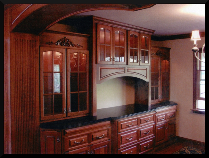 Dining Room Built-In Hutch